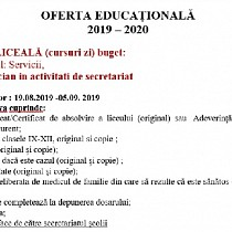 oferta educationala de la colegiul economic virgil madgearu ploiesti promotia 2019-2020