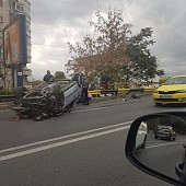 accident in lantpe podul din bariera bucuresti