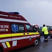 accident rutier in lant la busteni
