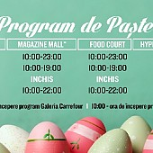 program de paste la ploiesti shopping city