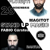 stand up si magitot magic la banzai house ploiesti