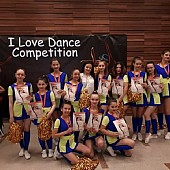 trupa happy dance  locul 1  majorete  la   i love dance competition  bucuresti