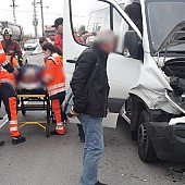 un nou accident rutier  in zona bauelemente