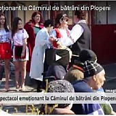 varstnicii de la  darius medical center plopeni s-au bucurat de 8 martie de un spectacol video -vp tv