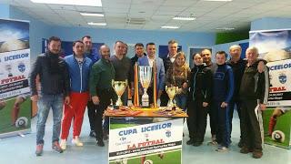 Cupa Liceelor la mini fotbal,editia a 3 a,incepe pe data de 31 ianuarie 2017 .