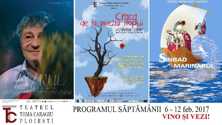 Program spectacole Teatrul