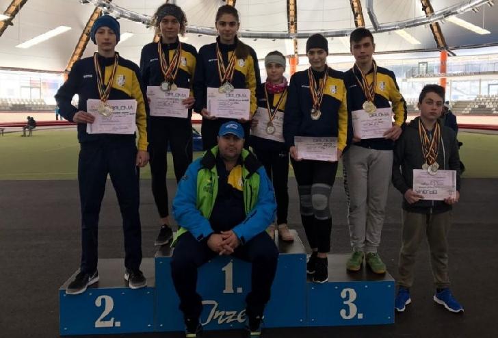 28 de medalii pentru patinatorii de la CSM Ploieşti