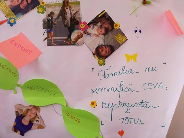 """COMUNICAT DE PRESĂ """"Workshop – FAMILIA o şcoala fără vacante"""""""
