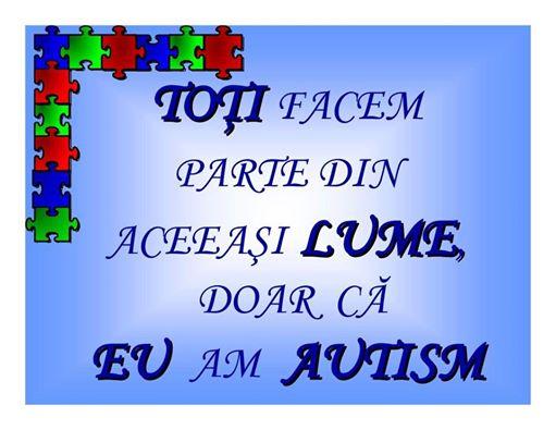 Ziua Internaţională a Conştientizării Autismului va fi marcata şi la Ploieşti.