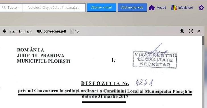 """Vineri se va realiza asocierea dintre Primăria Ploieşti şi ACS Petrolul 52 Ploiesti privind marca """" Petrolul Ploieşti ?"""