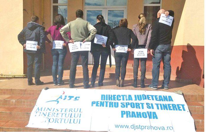 Greva la Direcţia Judeţeană de Tineret şi Sport Prahova