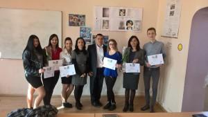 Asociatia Ai Carte i-a premiat pe elevii Colegiului Tehnic Constantin Istrati Campina