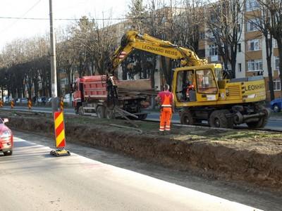 Lucrari de reparatii in municipiul Ploiesti .