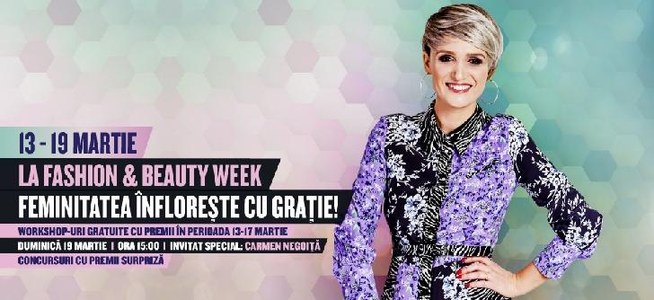 """Frumuseţea se sărbătoreşte la Ploieşti Shopping City   O săptămână de workshop-uri de stil în cadrul """"Fashion & Beauty Week"""""""