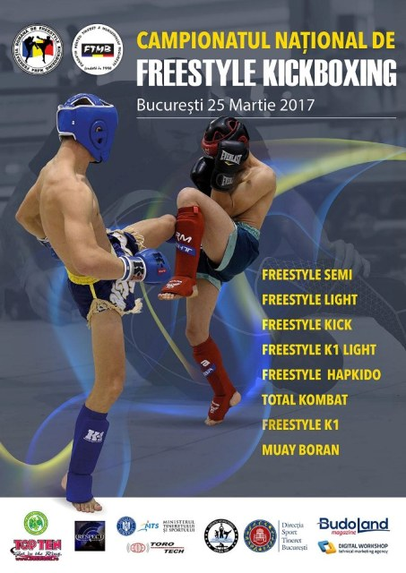 Lotul CS Dinamo Victoria Ploiesti pentru Campionatul National de kickboxing -Bucuresti 2017.