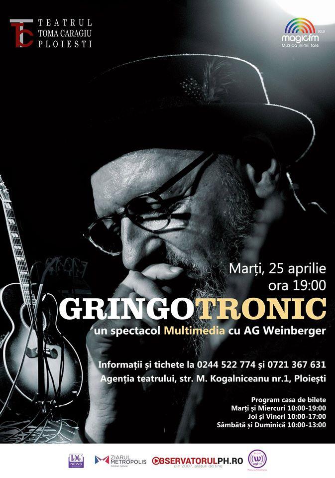 Concert AG Weinberger la Teatrul Toma Caragiu Ploiesti .