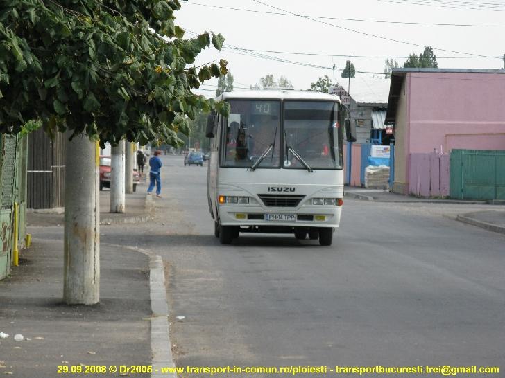 "Se repune in functiune traseul 40 barat Hale  Catedrala – Parc ""Constantin  Stere"" Bucov"