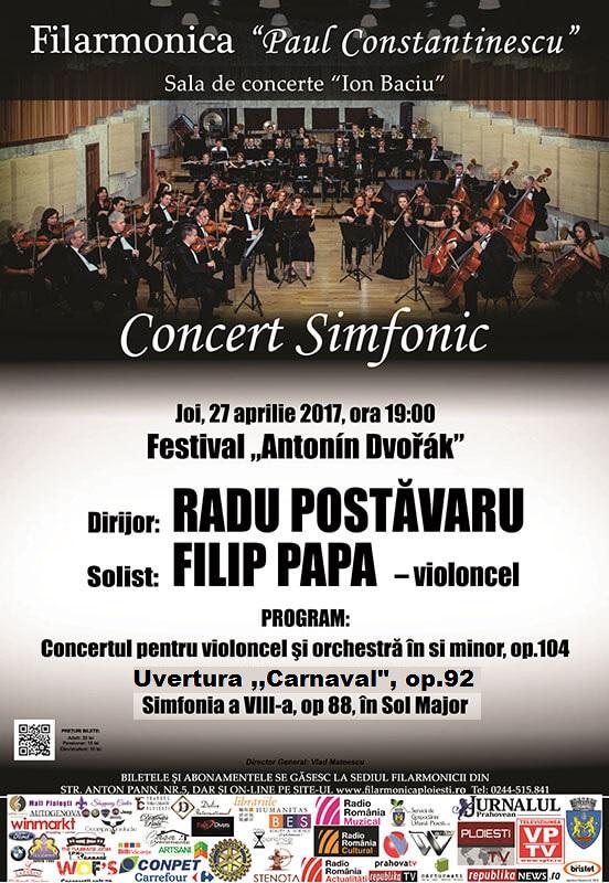 """Zilele Filarmonicii """"Paul Constantinescu """" Ploiesti . O saptamana plina de evenimente ."""
