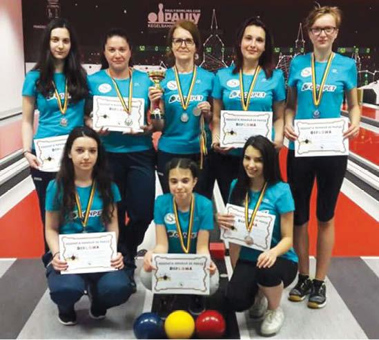 Echipa de tineret de la Conpet Ploiesti , locul 2 la Campionatele Naţionale de tineret (U23)