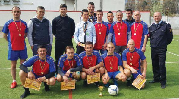 """Echipa ISU Prahova a castigat ediţia a III-a a Cupei """"Ziua Jandarmeriei"""" la minifotbal"""