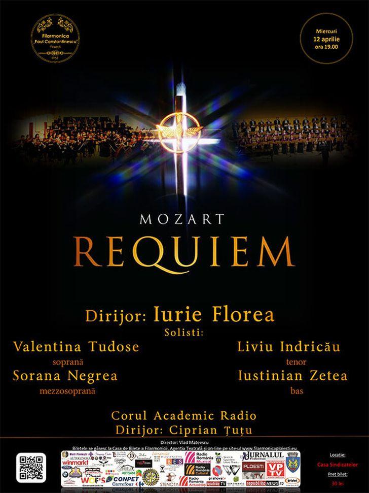 Concert exceptional Requiem – Mozart  la Ploiesti .
