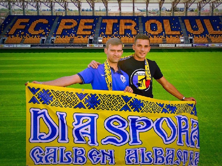 Ovidiu Hoban a devenit membru al Asociatiei Diaspora Galben Albastra ( ADGA ) .