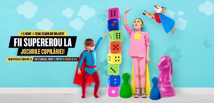 Cea mai mare petrecere pentru copii, la Ploieşti Shopping City .