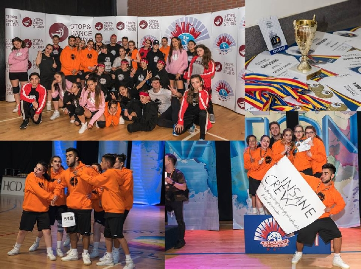 Insane Dance Center, premii importante la Campionatul Naţional IDO