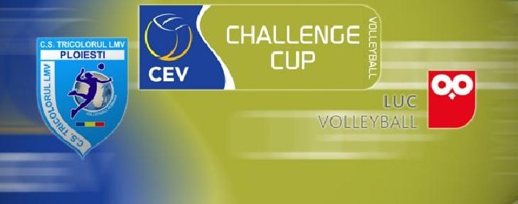Tricolorul LMV Ploiesti -  Lausanne UC in CEV Challenge Cup.