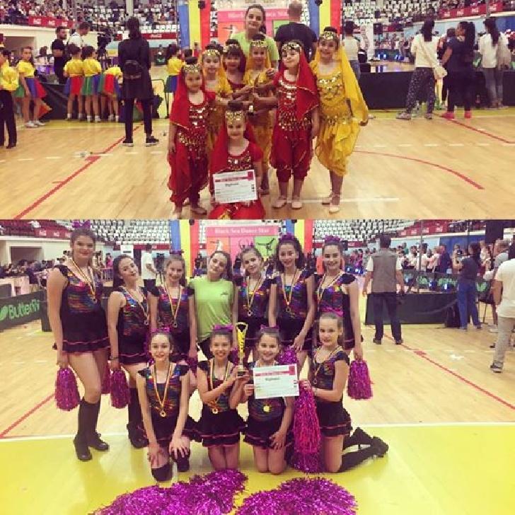Trupa Happy Dance Ploiesti ,doua premii de locul 1  la Black Sea Dance Star .