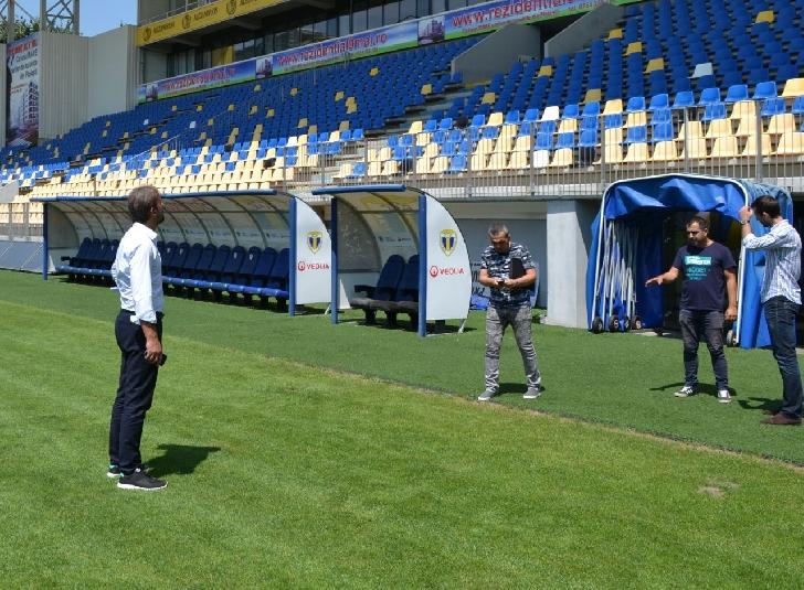 """Stdionul """"Ilie Oana """" a fost omologat pentru meciul Romania – Kazahstan ."""