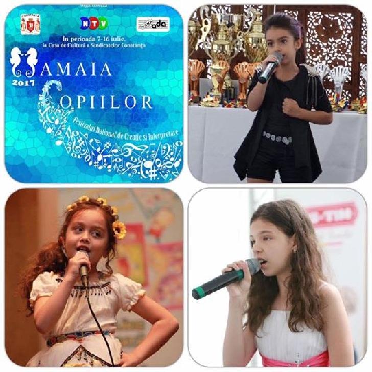3 artisti de la Clubul Artist Ploiesti s-au calificat in finala Festivalului Naţional de Creaţie şi Interpretare Mamaia Copiilor 2017