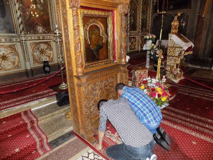 PENITENCIARUL  PLOIEŞTI . INFORMARE   DE  PRESĂ. Vizită la Mănăstirea Ghighiu