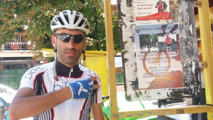 Pe biciclete fără frontiere, în comuna  Brazi.