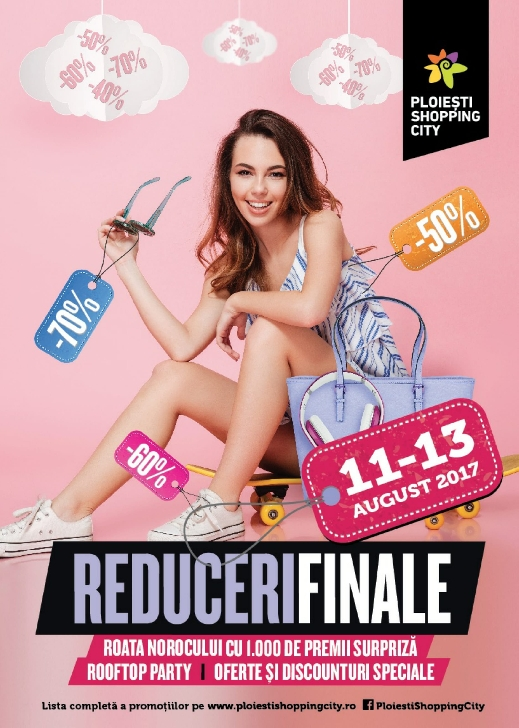 Weekend plin de premii si de evenimente la Ploiesti Shopping City