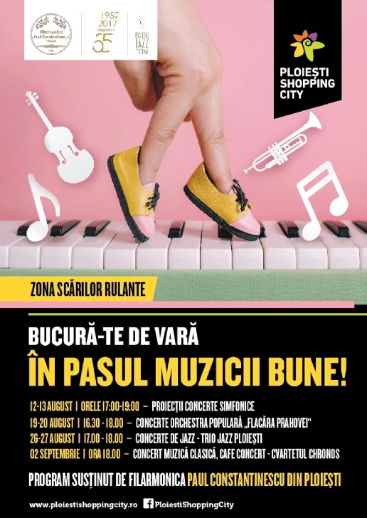 "Un weekend artistic la Ploiesti Shopping City.Ateliere mestesugaresti sustinute de mamele meseriase din comunitatea ""Work At Home Moms"" si concert de jazz"