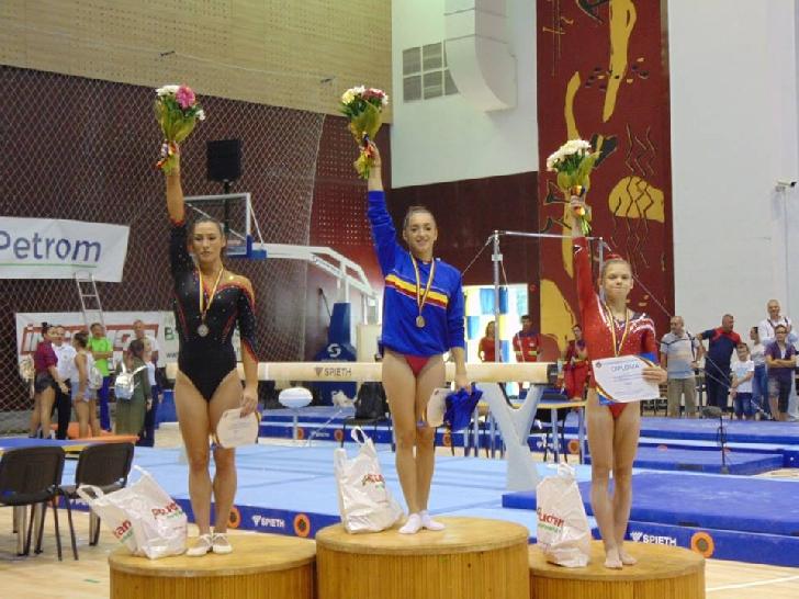 CN gimnastică-Ploieşti 2017 la final. Larisa Iordache – triplă campioana naţională