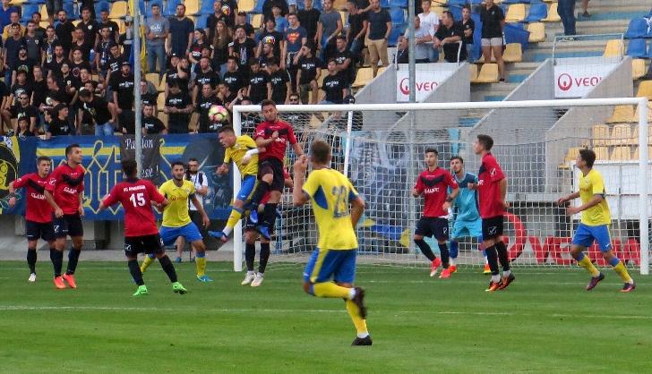 Victorie lejera . FC Petrolul – FC Aninoasa 4-0