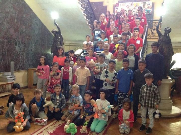 Echipa EuroCuza a fost alaturi de copii de la Organizatia Umanitara Concordia