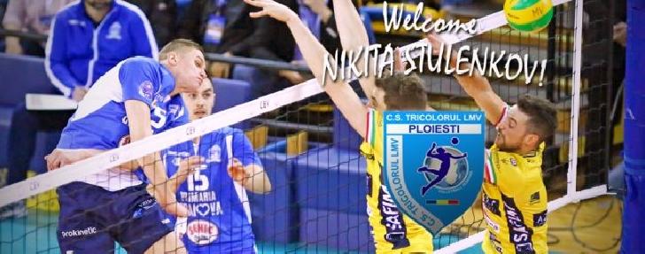 Nikita Stulenkov , noul transfer al echipei Tricolorul LMV Ploiesti