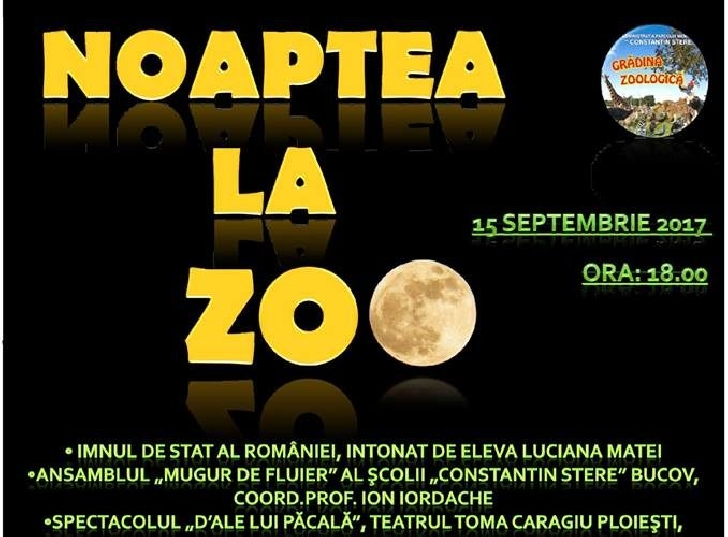 Noaptea la Zoo , editia a 4 a