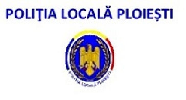 Comunicat Politia Locala Ploiesti . Actiuni in perioada 11 -14 septembrie 2017.Poliţiştii locali în slujba cetăţeanului