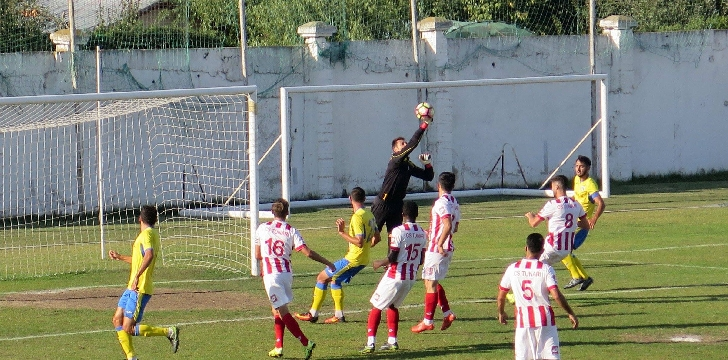 Victorie italiana . CS Tunari - Petrolul Ploiesti 0 - 1