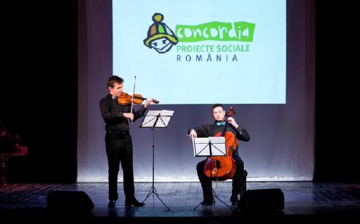 """CONCORDIA a organizat cea de-a treia ediţie a Concertului Caritabil """"Pentru ca poveştile triste să aibă un final fericit!"""""""