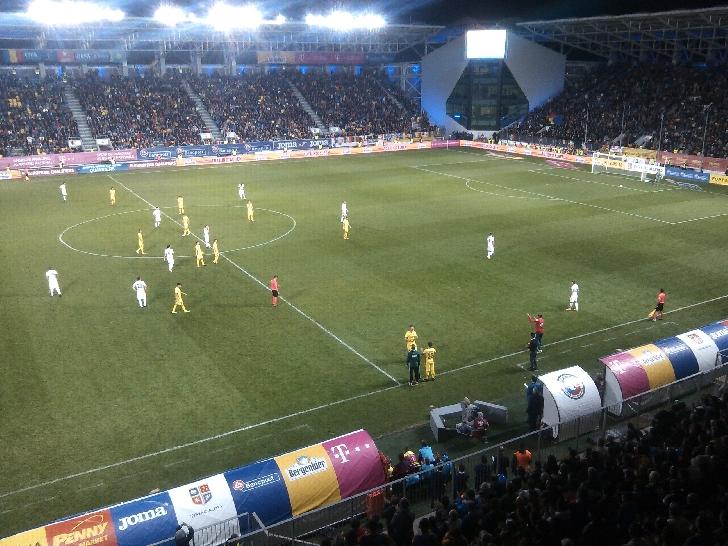 în fata ploieştenilor,Cosmin Contra a debutat cu victorie la echipa naţională.România – Kazakhstan 3-1