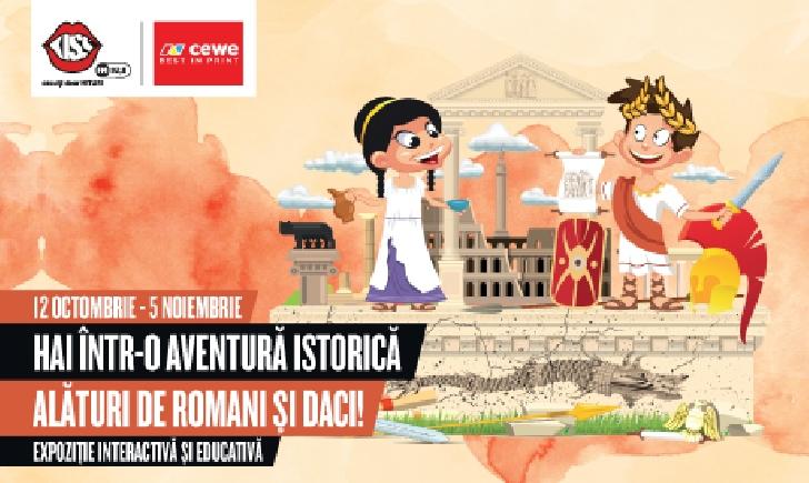 Copiii pornesc într-o aventură unică alături de daci şi romani, numai la Ploieşti Shopping City
