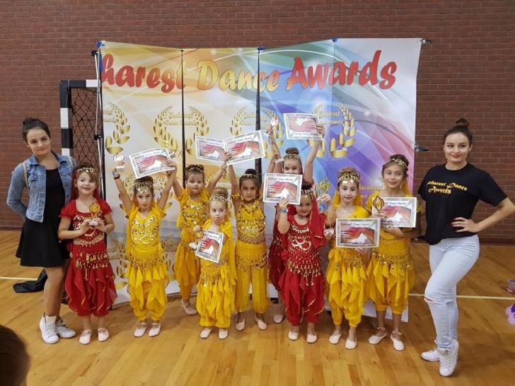 Trupa Happy Dance Junior, doua locuri 1 la Bucharest Dance Contest .