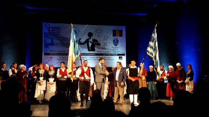 """Filarmonica """"Paul Constantinescu"""" Ploieşti a susţinut, săptămâna trecută, un concert extraordinar în Grecia"""
