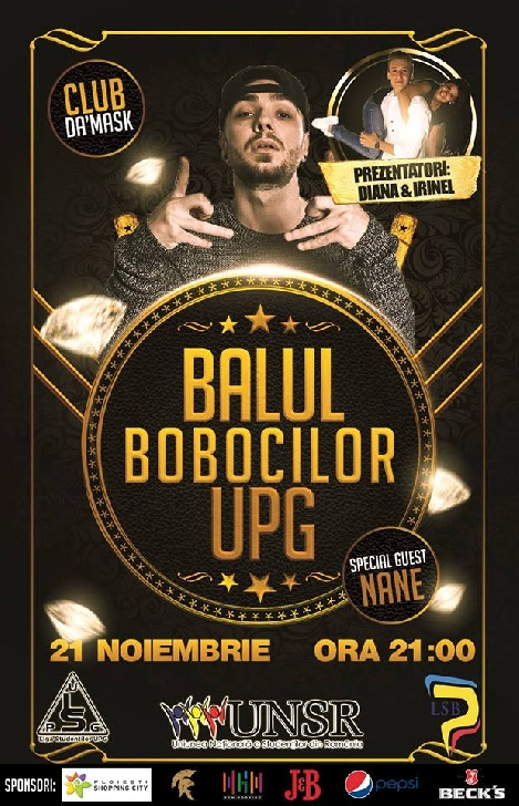 Balul Bobocilor UPG 2017
