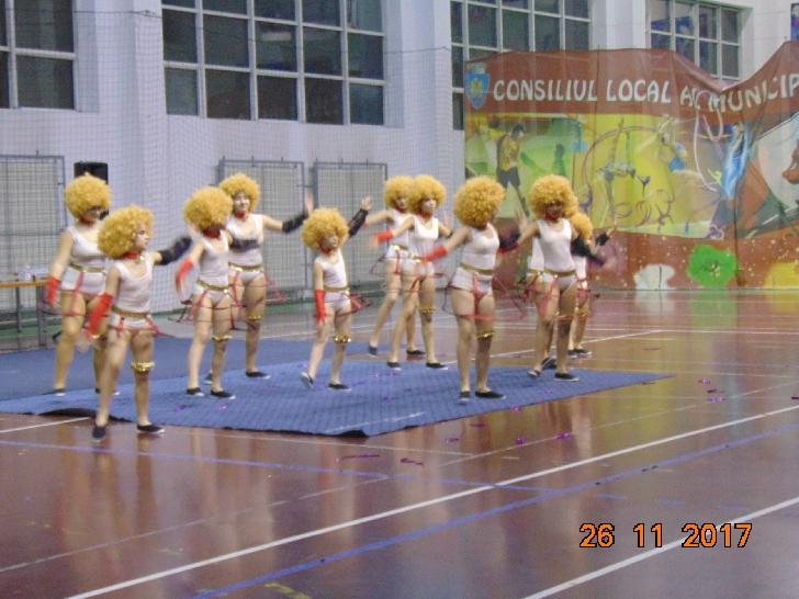7 ANI DE ŞTIRI-  INFO PLOIEŞTI CITY.  Un spectacol exceptional la Sala de sport Leonard Doroftei Ploiesti
